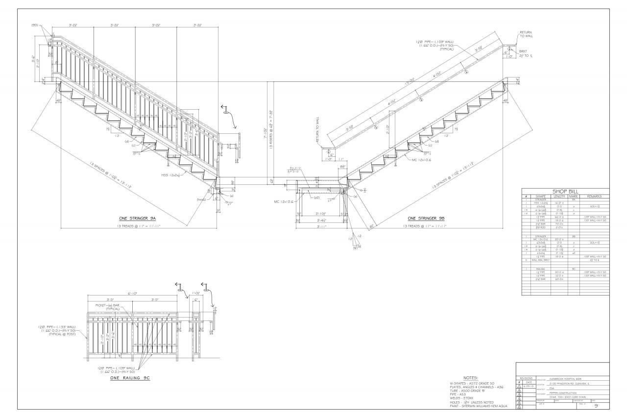 Steel Detailing, Inc. - Miscellaneous steel